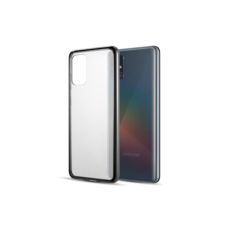 . Funda DW Fusion Candy Samsung A51 Transparente borde Negro