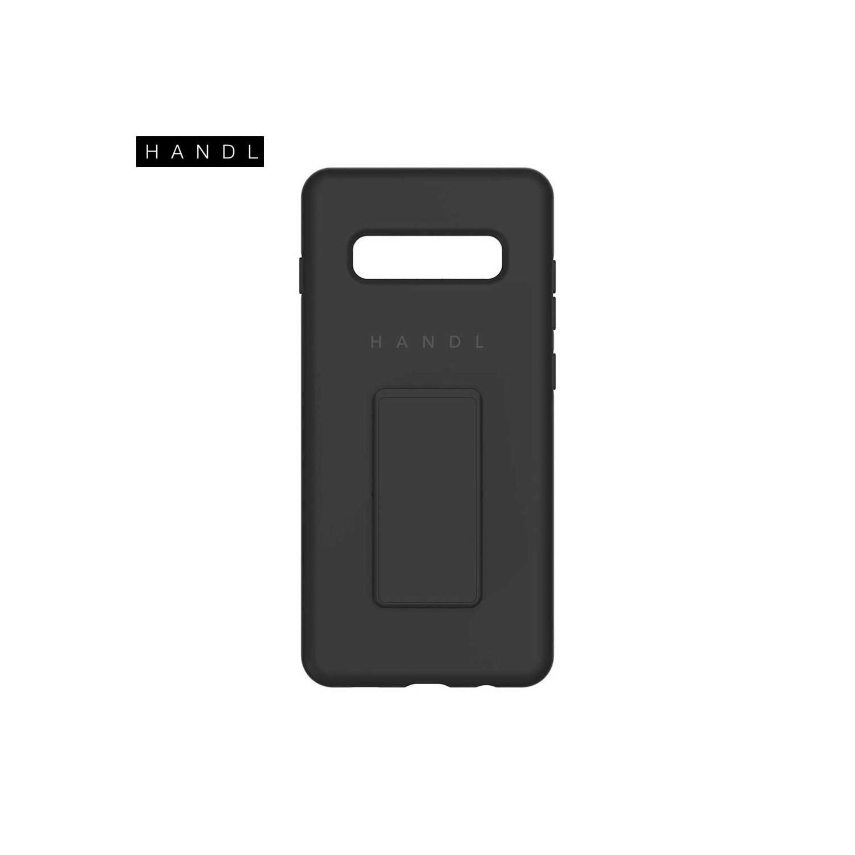 . Funda HANDL Soft Touch para Samsung S10 PLUS - Negra