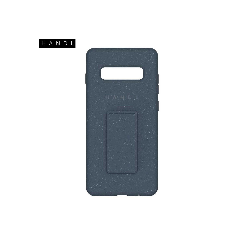 . Funda HANDL Soft Touch para Samsung S10 PLUS - Azul
