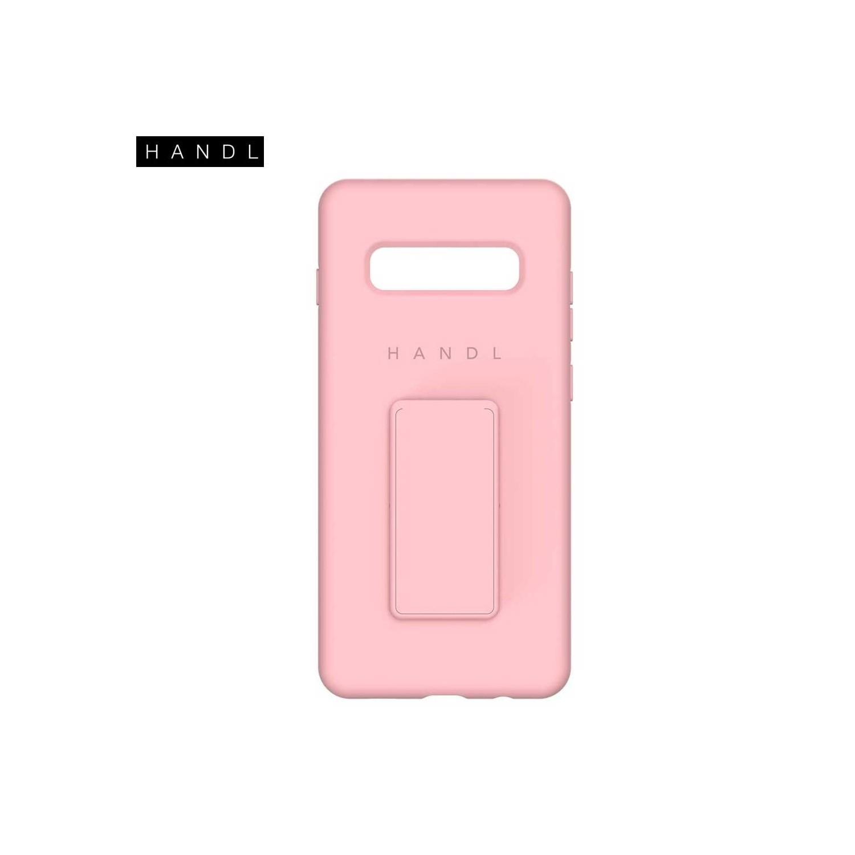 . Funda HANDL Soft Touch para Samsung S10 PLUS - Rosa