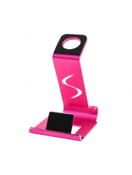 Soporte VECTR 2en1 para telefono y reloj Apple Watch - Rosa