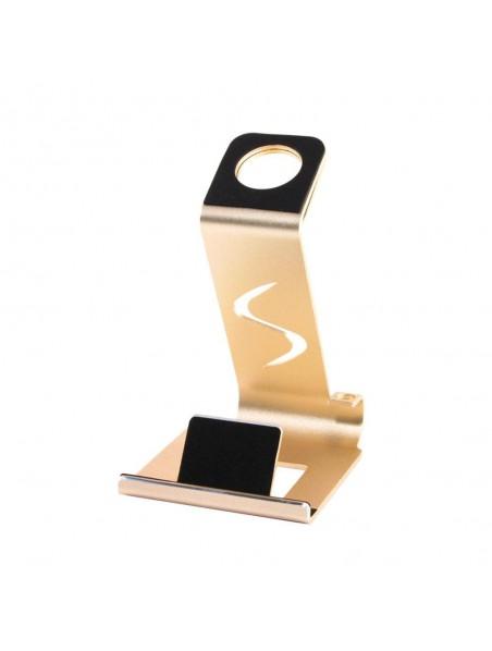 Soporte VECTR 2en1 para telefono y reloj Apple Watch - Oro