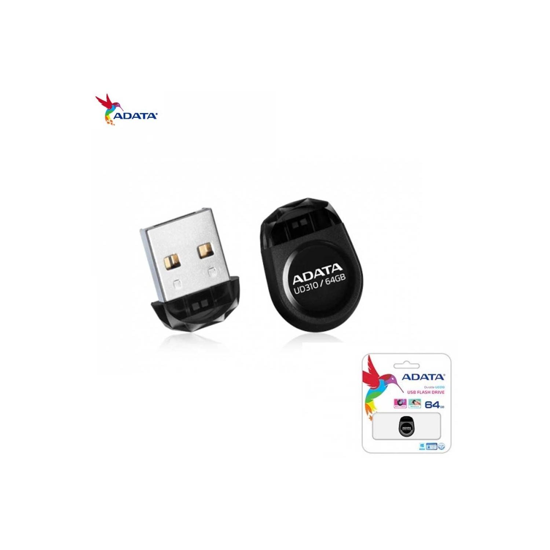 Memoria USB Flash Drive 64GB Adata Negra