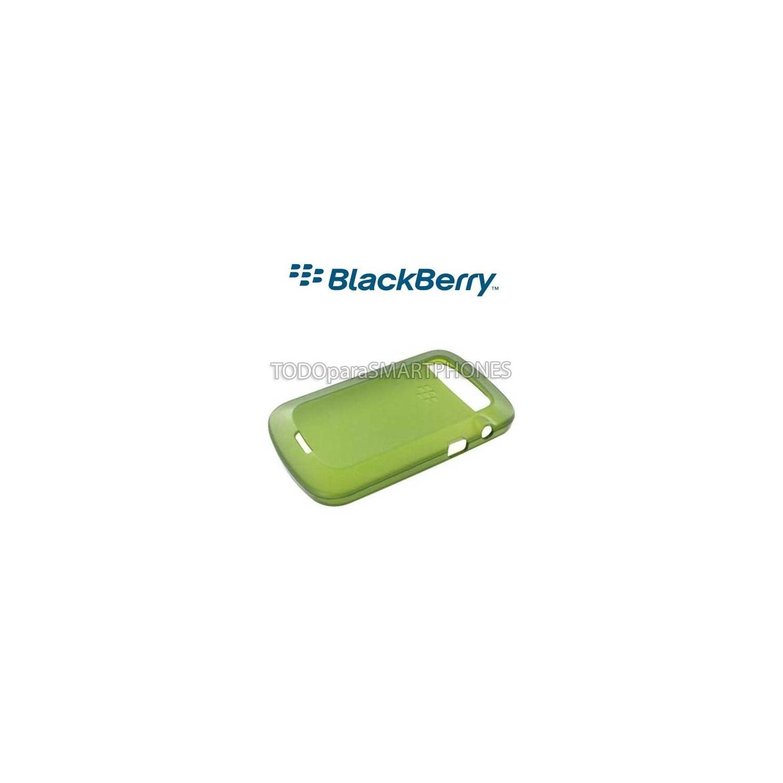 Softshell TPU Blackberry 9900 9930 verde ACC-38873-303