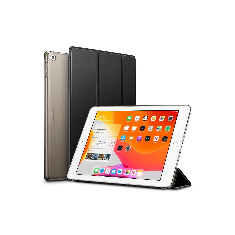 """. Funda ESR Trifold para iPad 8 10.2"""" 2020 Negra A2270 A2428 A2429 A2430"""