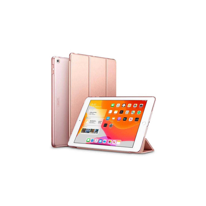 . Funda ESR Trifold para iPad 8 e iPad 7 Rose A2270 A2428 A2429 A2430 A2197 A2200 A2198