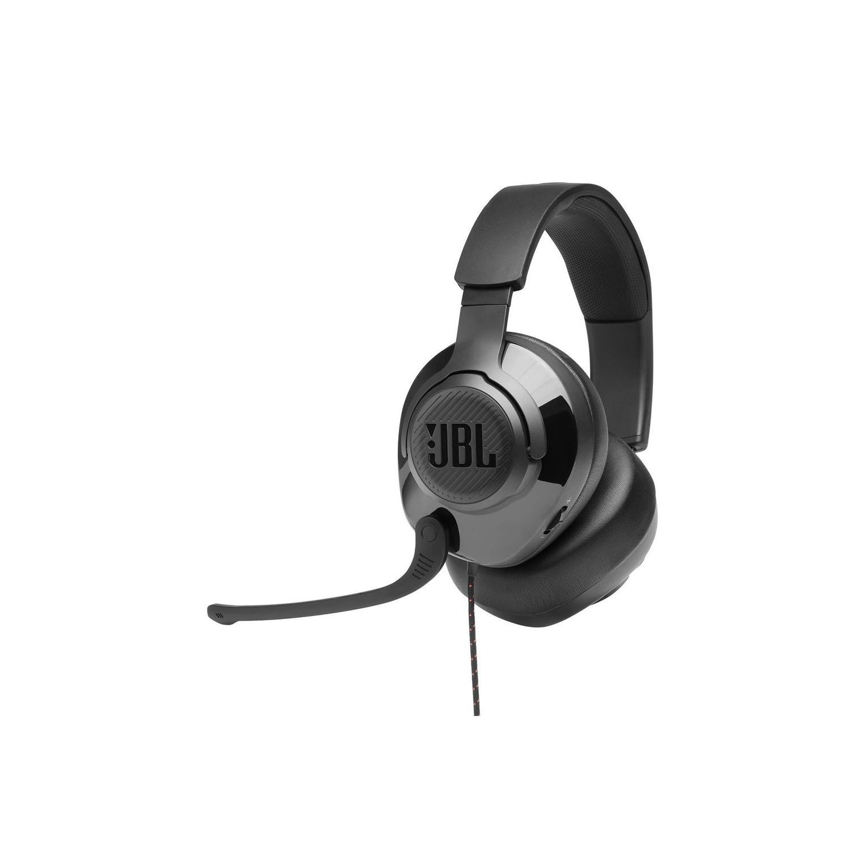 Audífonos JBL Quantumm 200 Gamer Negro Stereo con micrófono Universal alámbrico 3.5mm