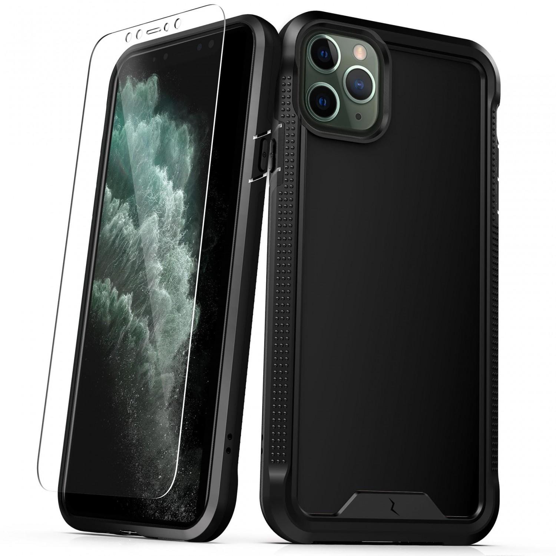 . Funda ZIZO Ion iPhone 11 PRO MAX Negra con mica cristal