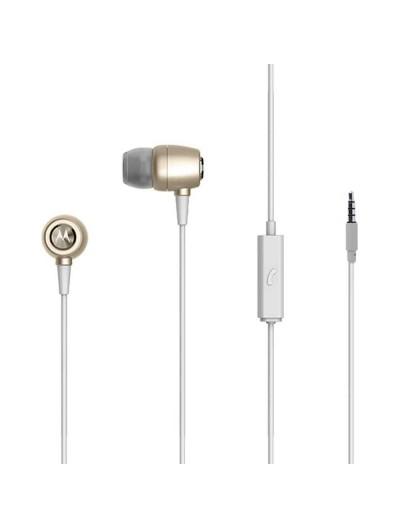 Headset - MOTOROLA Earbuds Metal OEM Stereo  3.5mm - Universal - Gold