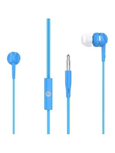 Headset - MOTOROLA Pace 105 OEM Stereo  3.5mm - Universal - Blue