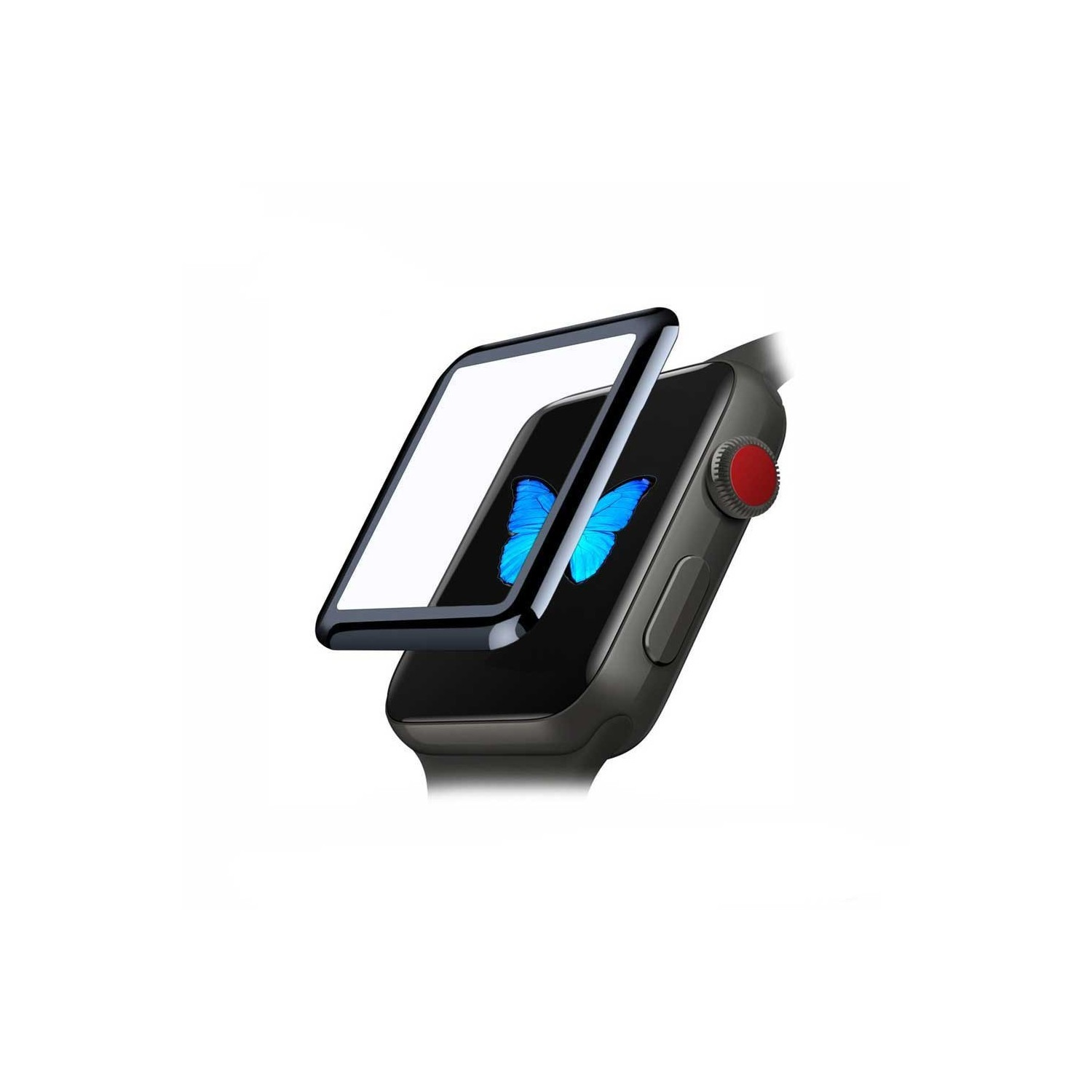 Screen Protector - ZIZO Tempered Glass for Apple watch 42mm
