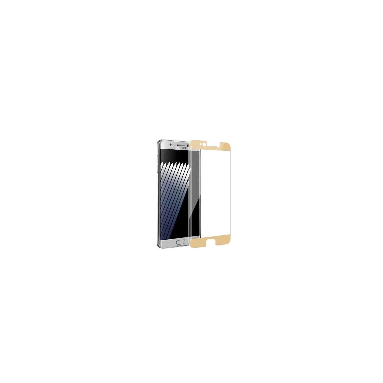 Mica Vidrio Templado PRODIGEE Samsung Note 7 borde Oro Protectora de pantalla