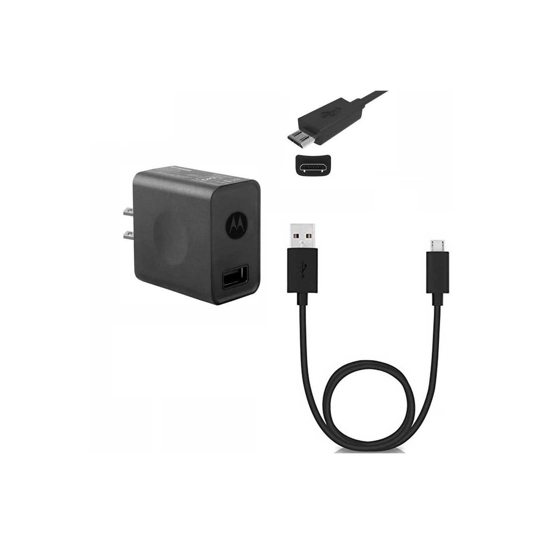 Cargador AC MOTOROLA CP35 + Cable Micro USB (COMBO PACK) sin empaque