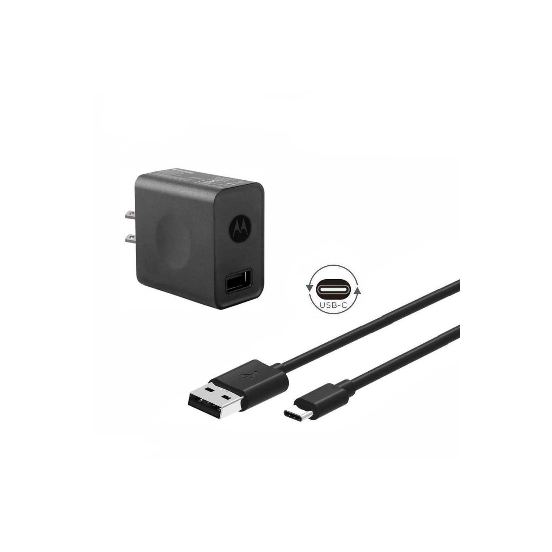 Cargador AC MOTOROLA CP35 + Cable USB-C (COMBO PACK) sin empaque