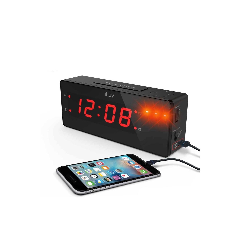 Cargador Reloj despertador ILUV Timeshaker Hotel