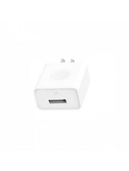 Cargador AC MOTOROLA USB 1Amp Universal (SIN CABLE) negro (sin empaque)