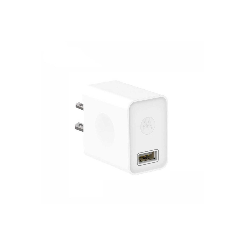 Cargador AC MOTOROLA USB 2Amp 10W Universal (SIN CABLE) blanco (sin empaque)