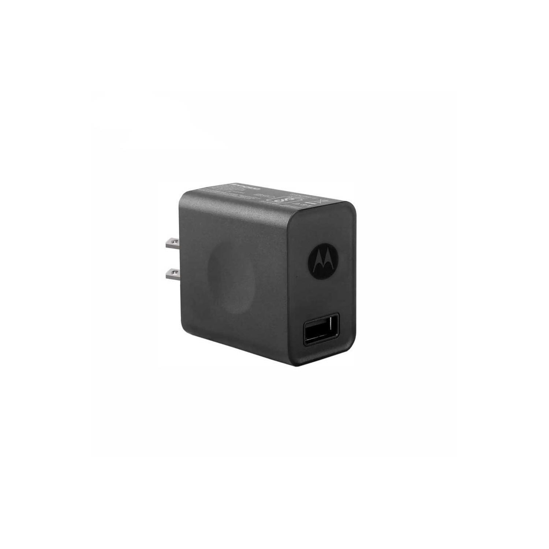 Cargador AC MOTOROLA USB 2Amp Universal (SIN CABLE) negro (sin empaque)