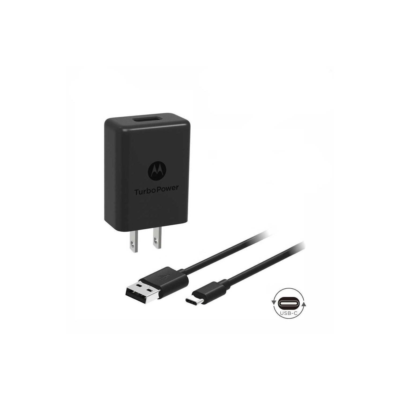 Motorola TurboPower 15 USB + USB-C Cable combo