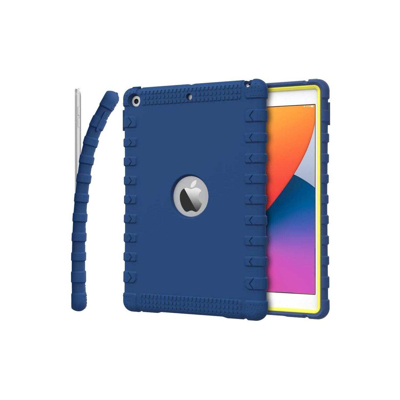 . Funda MOKO para iPad 8 e iPad 7 Azul alta proteccion A2270 A2428 A2429 A2430 A2197 A2200 A2198