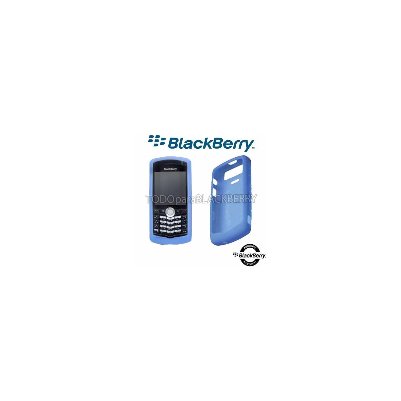 Funda Protector Skin Silicon 8110 8120 8130 Azul