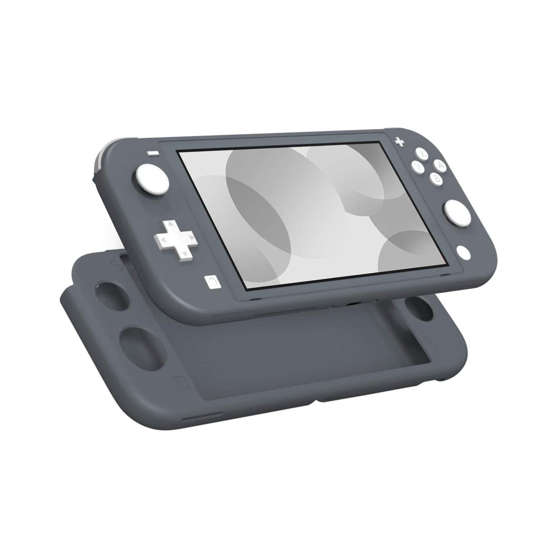 . Funda MOKO silicon para control Nintendo Switch Lite - Gris