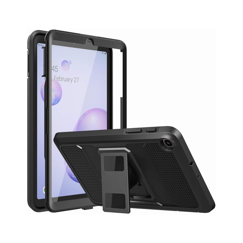 """. Funda MOKO uso rudo para Samsung Tab A 8.4"""" 2020 (SM-T307) - Negra"""