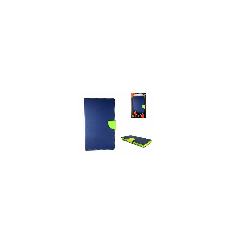 . Funda IKO Samsung Tab 3 de 8 Wallet Azul/Verde