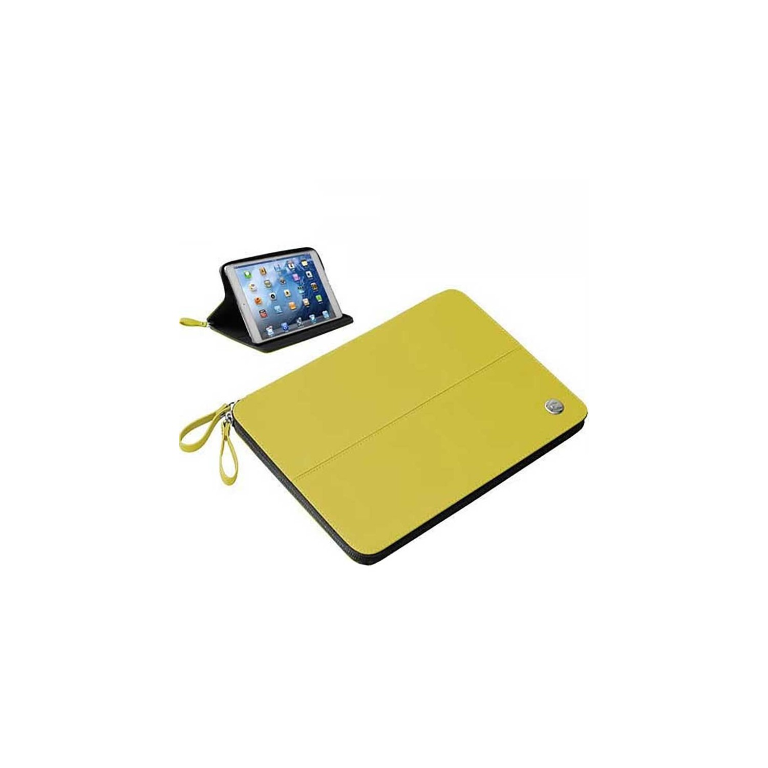 Case - Walk on Water Drop Off Carry Stand Case for iPad Mini - Yellow