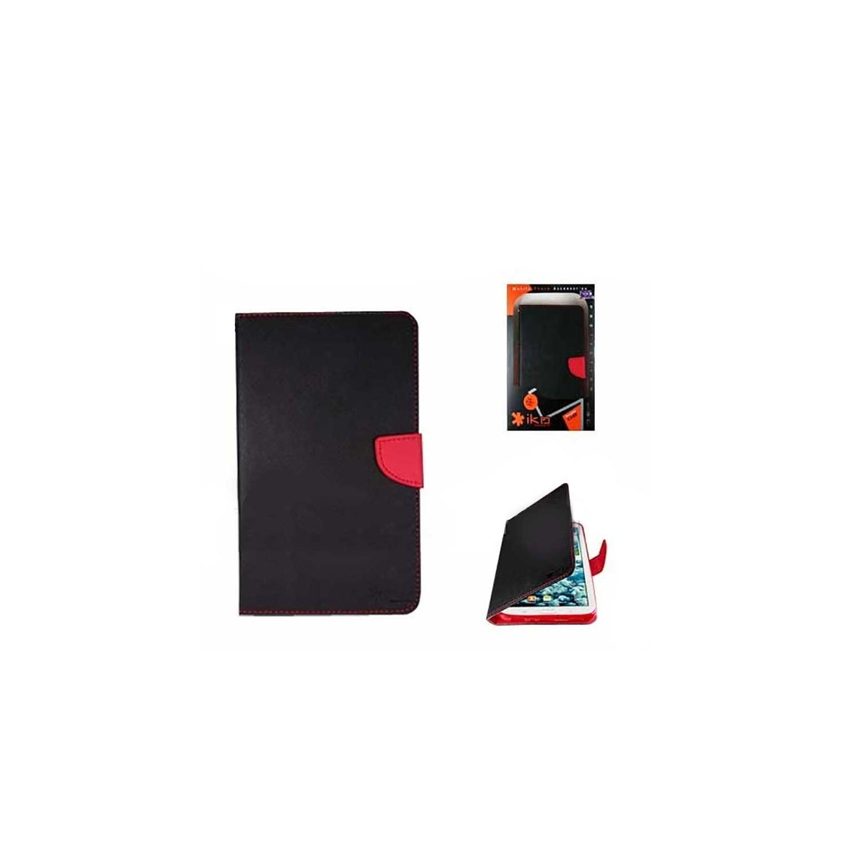 """. Funda IKO para Samsung Tab 3 de 8"""" Wallet Rojo/Negro"""