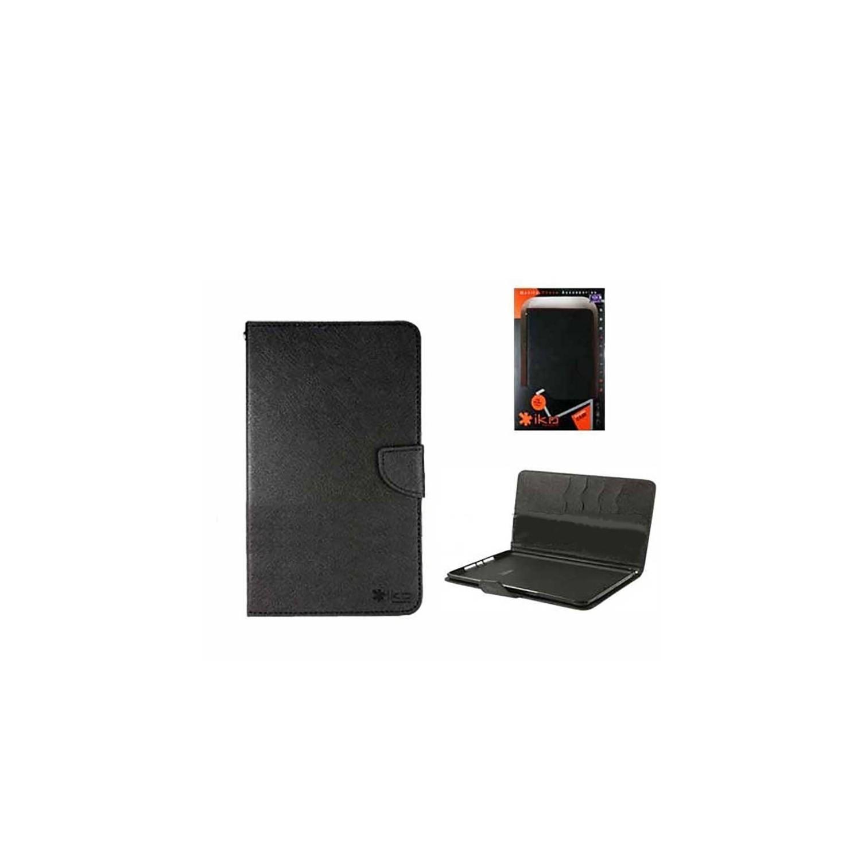 """. Funda IKO para Samsung Tab 3 de 8"""" Wallet Negro/Negro"""