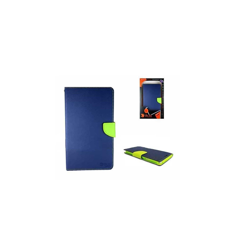 """. Funda IKO para Samsung Tab 3 de 7"""" Wallet Azul/Verde"""