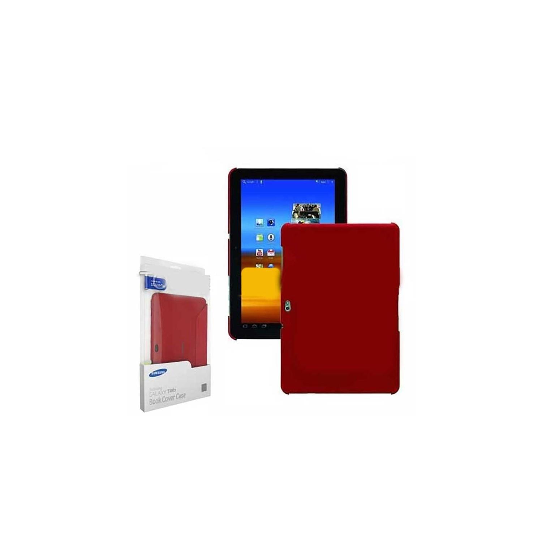 Case - Samsung EFC-1B1NREGSTA Book Cover Case For Galaxy Tab 10.1-Red
