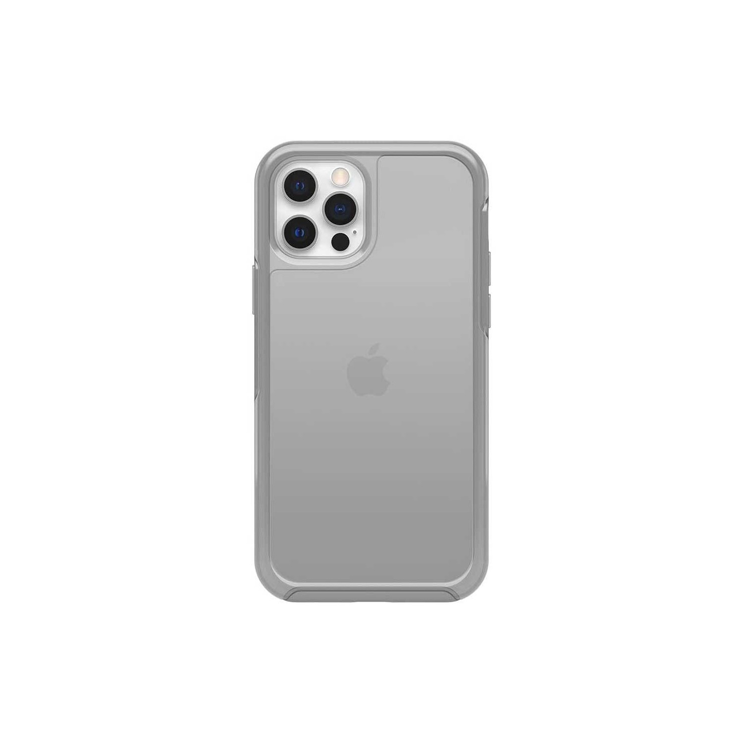 Case - Otterbox Commuter for iPhone 12 White Frost / Gray