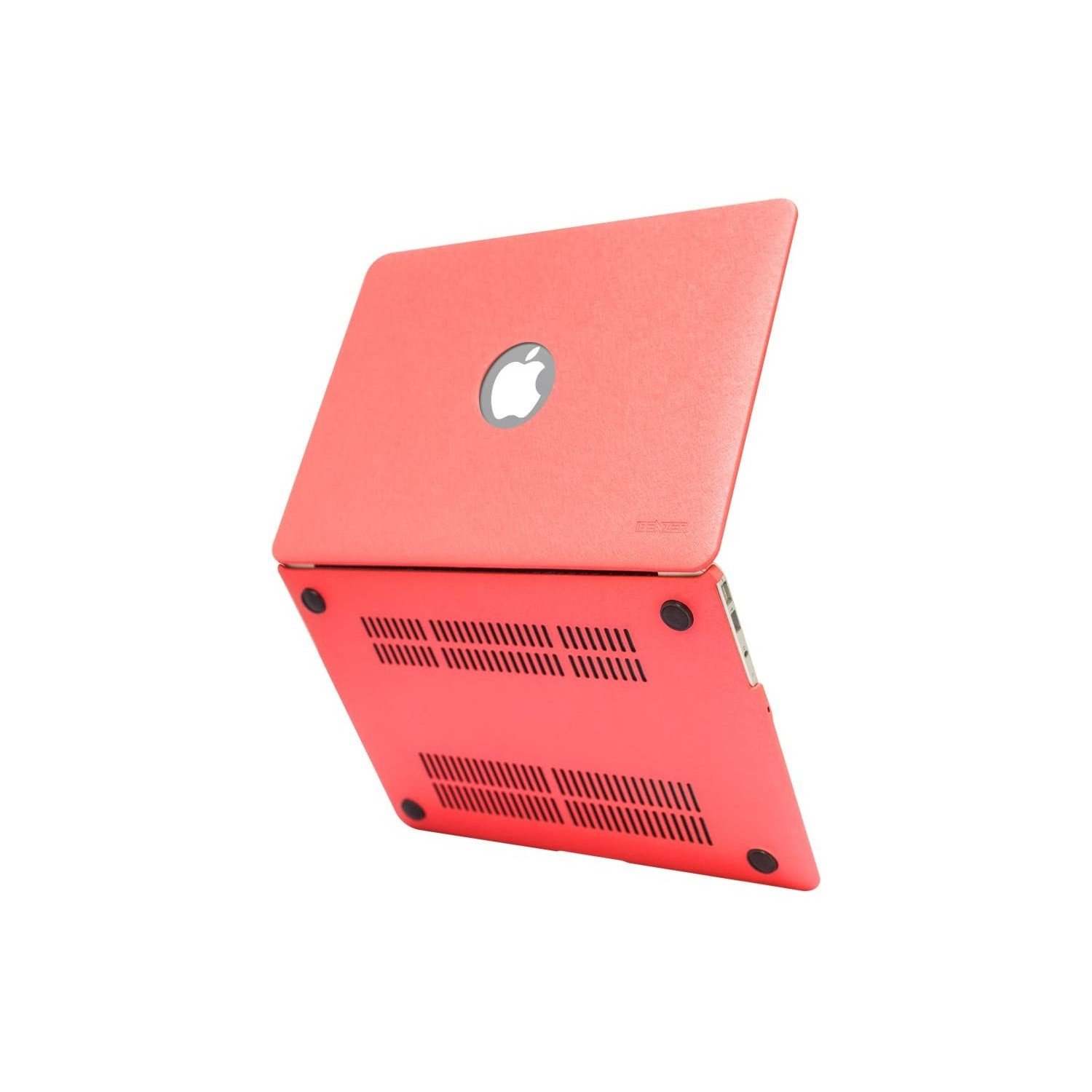 "Case - IBENZER Silk Smooth Case for MacBook AIR 13"" (A1466 & A1369)  RED"