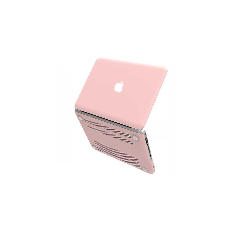 "Case - IBENZER NP Hard Case for MacBook PRO 15"" Retina display A1398 Rose Quartz"