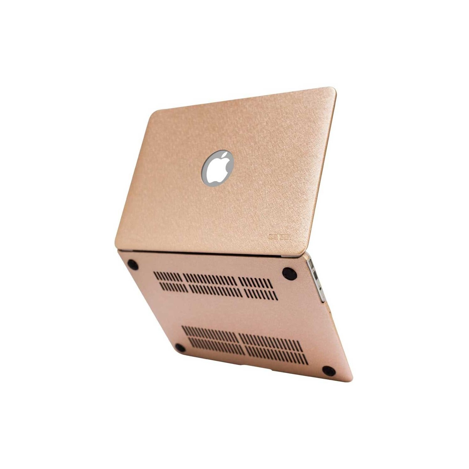 "Case - IBENZER Silk Smooth Case for MacBook AIR 13"" (A1466 & A1369)  GOLD"