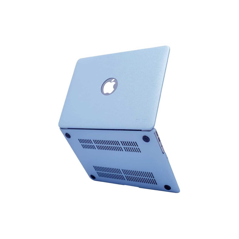 "Case - IBENZER Silk Smooth Case for MacBook AIR 11"" (A1465 & A1370)  BLUE"