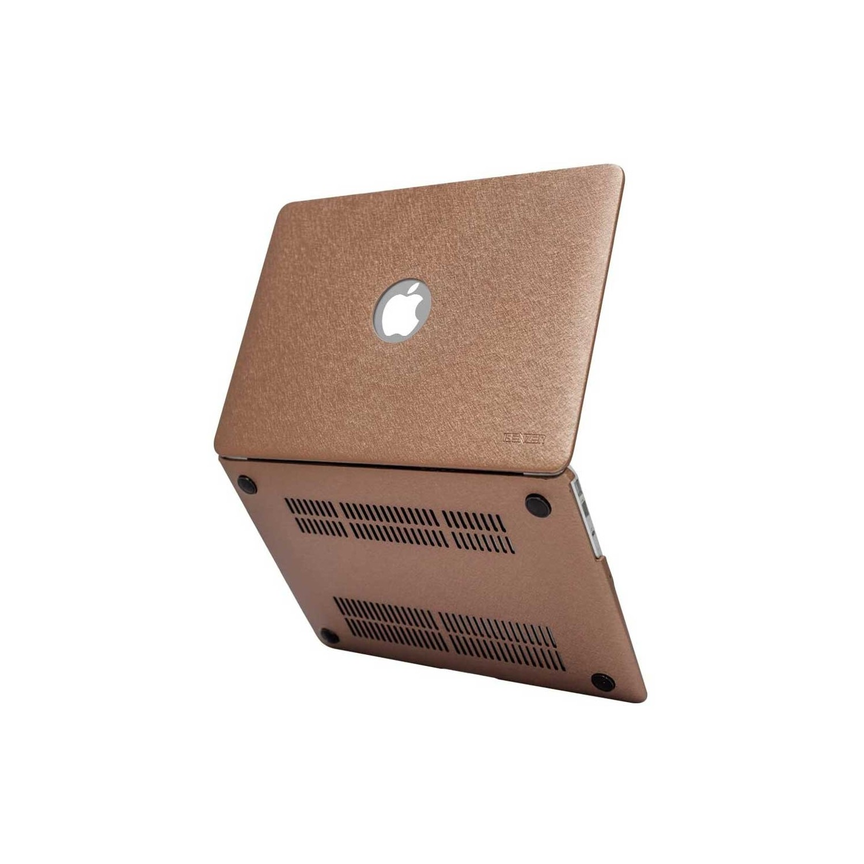 . Funda IBENZER Silk MacBook AIR 13 (A1466/A1369) CAFÉ Brillos