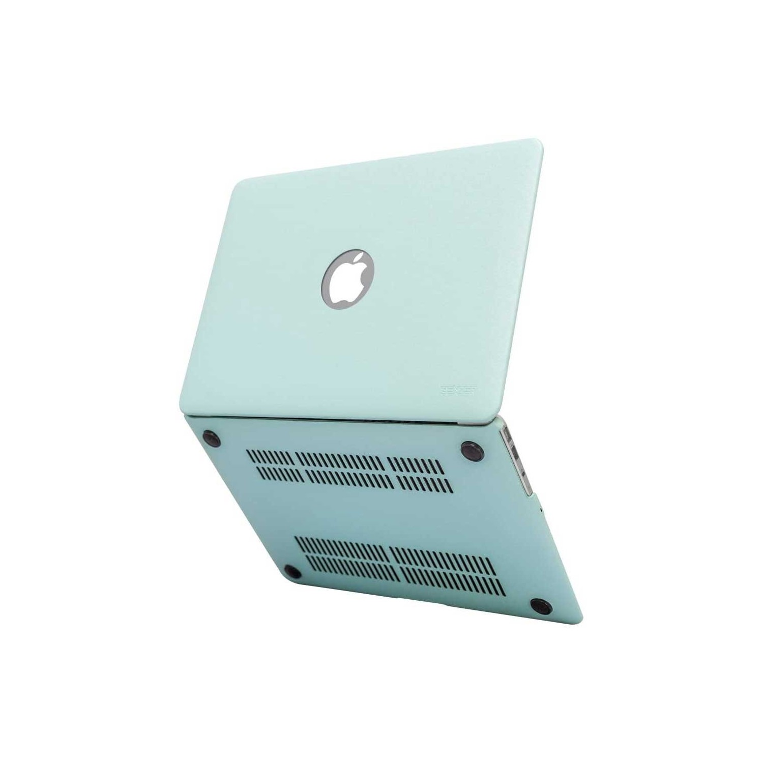 """Case - IBENZER Silk Smooth Case for MacBook AIR 11"""" (A1465 & A1370)  TURQUOISE"""