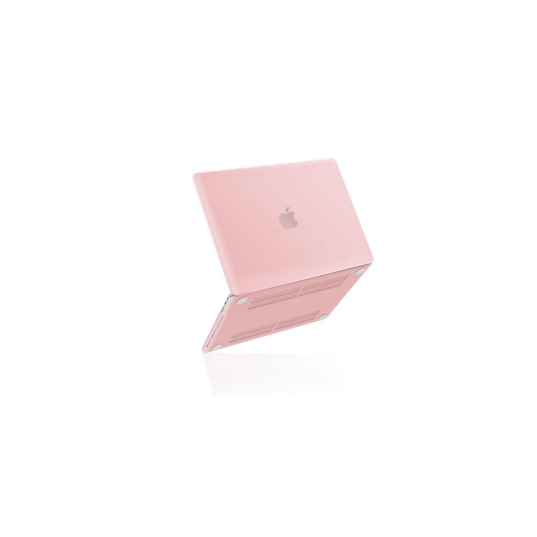 "Case - IBENZER NP Hard Case for MacBook PRO 15"" A1707 ROSE Quartz"