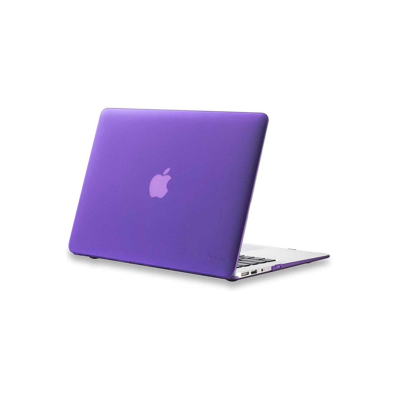"Case - Kuzy Rubberized Hard Case for MacBook 13"" Retina - PURPLE"