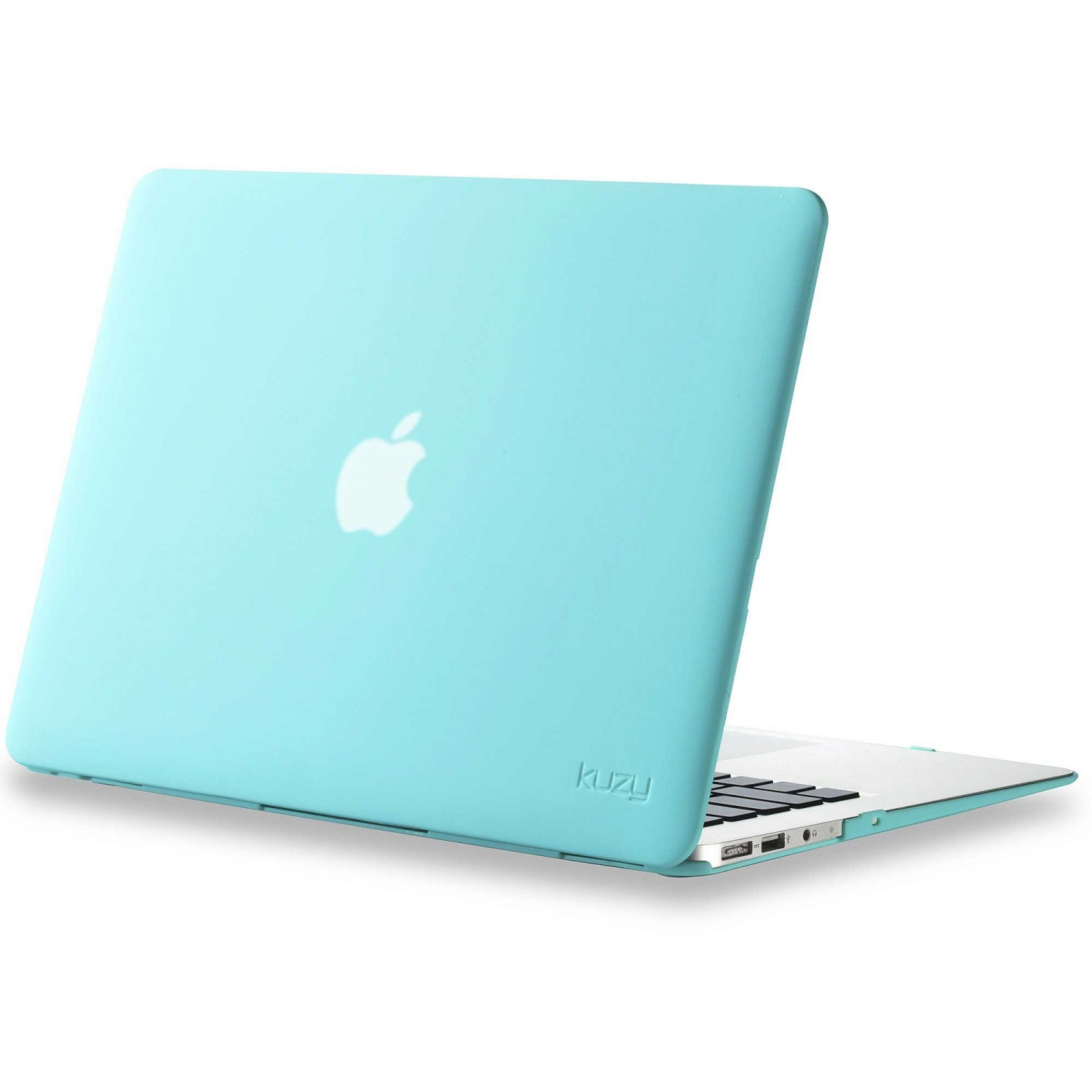 "Case - Kuzy Rubberized Hard Case for MacBook Air 13"" -TEAL"
