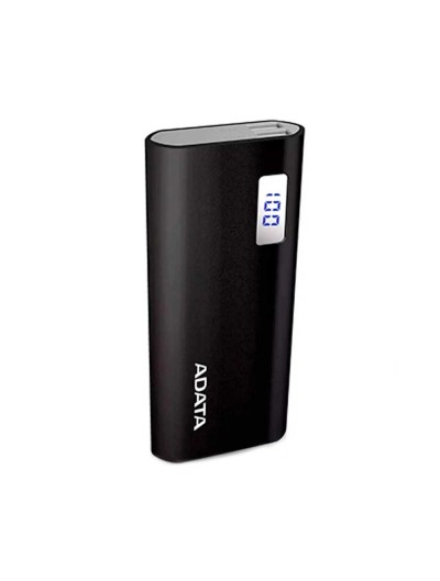 Adata Auxiliary Battery Powebank 12500mAH - Black