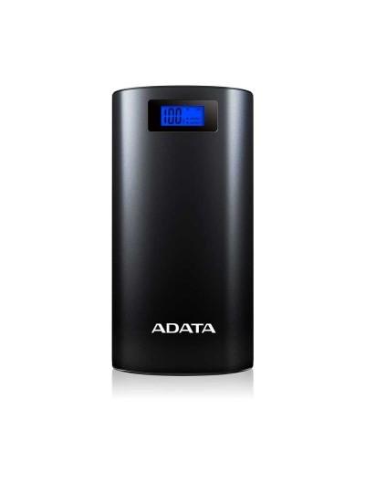 Batería Recargable ADATA Powerbank 20,000mAH Negro Universal