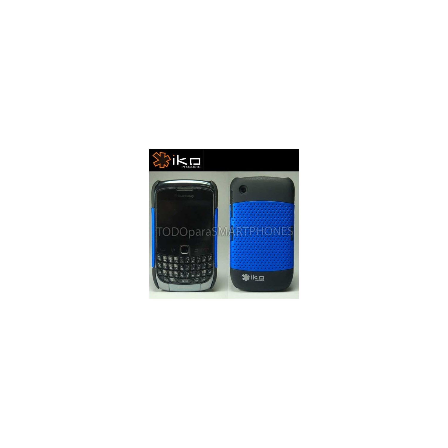 Funda IKO Blackberry 9700 9780 AZUL Net