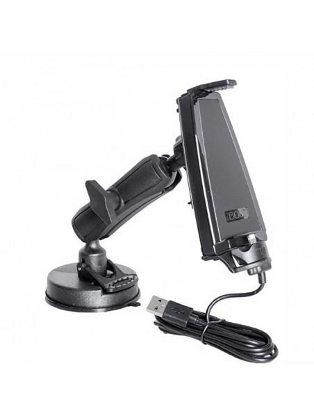 Soporte iBOLT iPro2 y cargador iPhone Lightning reforzado