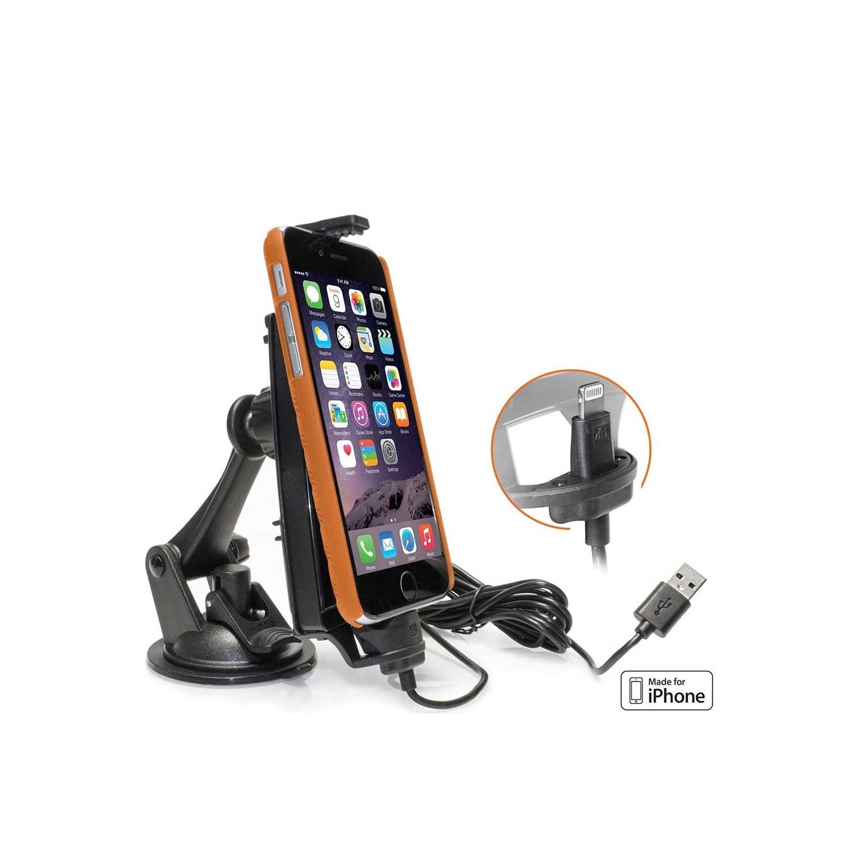 Soporte iBOLT iPro2 con cargador iPhone Lightning