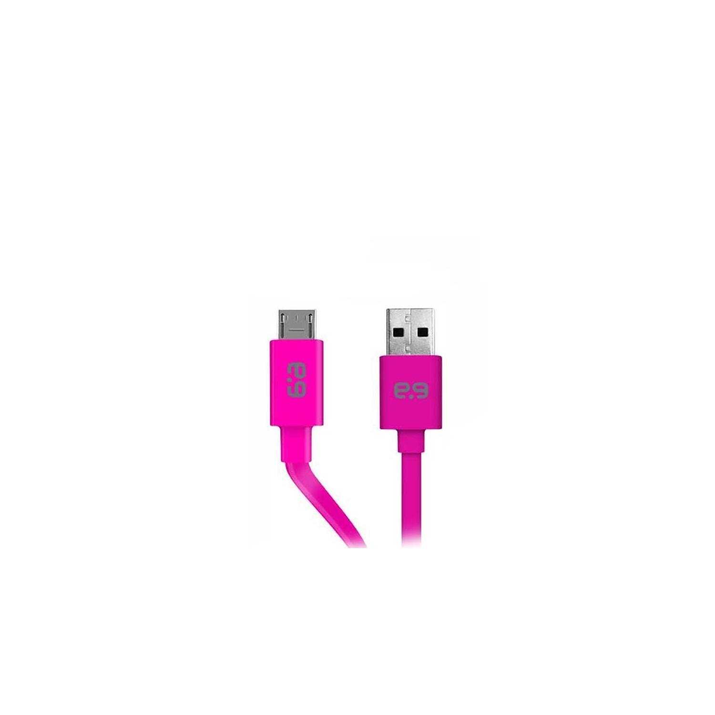 Cable Datos PUREGEAR Micro USB Universal Plano ROSA
