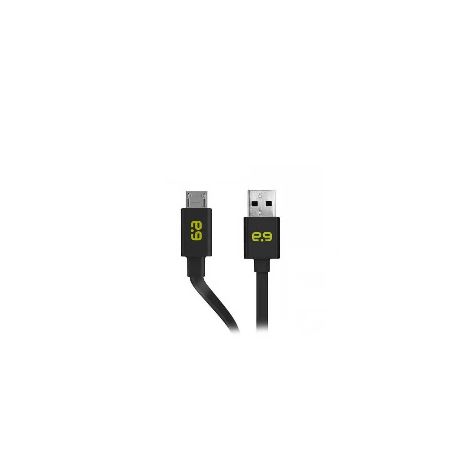 SYNC CABLE - Puregear Micro USB Flat Universal Cable Black